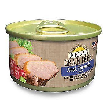 Canidae 30482038 3 oz Under The Sun Grain-Free Duck Pate Wet Cat Food