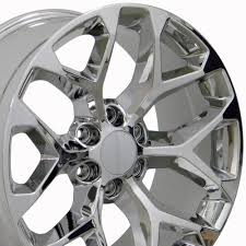 22x9 Chrome GMC Sierra Style Wheels Set Of 4 22