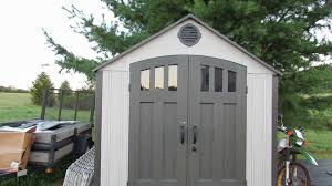 costco lifetime shed 10x8 lifetime sheds lifetime plastic shed