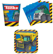 100 Tonka Truck Birthday Party Construction S Supplies Set Plates Napkins