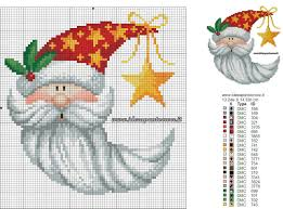 1225 Christmas Tree Lane Pdf by Best 25 Santa Cross Stitch Ideas On Pinterest Christmas Cross