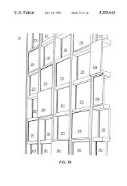 patent us5355645 stopless butt joint multiple curtainwall system