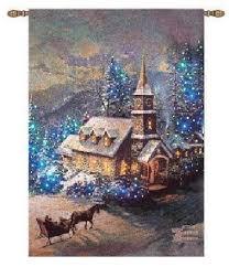 Thomas Kinkade Christmas Tree For Sale by Thomas Kinkade Wall Hangings Kincade Tapestries