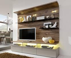 gwinner felino fe32 wohn wand mit beleuchtung und vollauszü schrank wand wohnzimmer möbel nussbaum lack fango teilmassiv unterteil