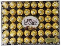 Ferrero Rocher Christmas Tree Box by Ferrero Rocher Fine Hazelnut Chocolates 48 Pieces Amazon Co Uk