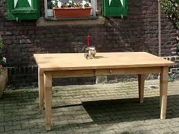 esstisch massivholztisch landhausstil esszimmer küchentisch 220 cm m01 natur neu