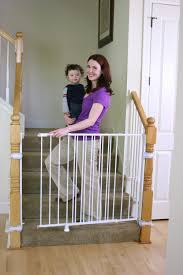 The Top Retractable Baby Gates For Stairs | Retractable Baby Gate ... Baby Gate For Stairs With Banister Ipirations Best Gates How To Install On Stairway Railing Banisters Without Model Staircase Ideas Bottom Of House Exterior And Interior Keep A Diy Chris Loves Julia Baby Gates For Top Of Stairs With Banisters Carkajanscom Top Latest Door Stair Design Wooden Rs Floral The Retractable Gate Regalo 2642 Or Walls Cardinal Special Child Safety Walmartcom Designs