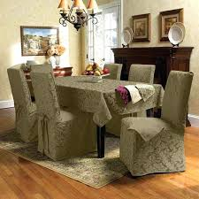 Cover For Dining Chairs Covered Room Best Chair Covers Ideas On Regarding Table