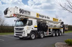 Bronto Skylift S 90 HLA Truck Mounted For Hire
