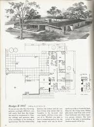 100 Mid Century Modern Home Floor Plans House Courtyard Awesome