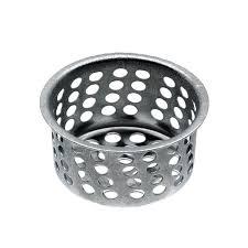 Install Sink Strainer Basket by Shop Danco 1 09 In Chrome Stainless Steel Kitchen Sink Strainer