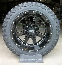 5 20x12 Black Moto Metal 962 Wheels w 33