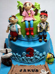 3 Cool Ideas for Jake and the Neverland Pirates Birthday Cake
