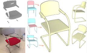 100 C Ing Folding Chair Replacement Parts StructureAware Shape Processing