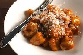 Pumpkin Gnocchi Recipe by Potato Gnocchi With Tomato Porcini Sauce Recipe Chowhound