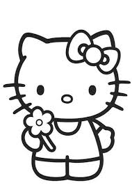 Good Hello Kitty Coloring Page 43 For Your Download Pages With