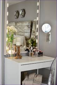 White Makeup Desk With Lights by Bedroom Amazing Dressing Table Mirror With Lights Ikea Lighted
