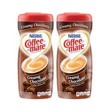 Nestle Coffee Mate Creamy Chocolate Creamer 2 Pack 4252g Per Canister