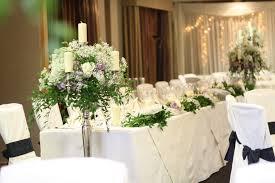 Purple Church Wedding Decorations Table Weddign