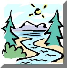 River Clip Art 42936