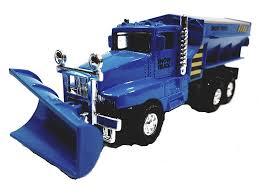 100 Salt Spreaders For Trucks Amazoncom SF Toys Blue Front End Snow Plow Rear Spreader 575