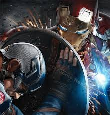 Iron Man Vs Captain America Drawing By Quelchii