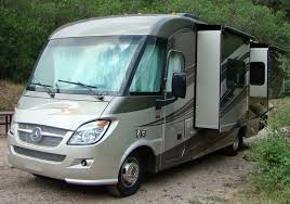 The Winnebago Via Is Built On A Mercedes Benz Chassis