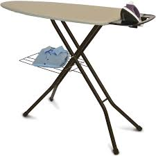 Ironing Board Cabinet With Storage by Better Homes And Gardens Wide Top Ironing Board Khaki Walmart Com