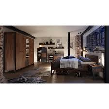 home affaire nachttisch breite 55 cm in angesagtem industrial look
