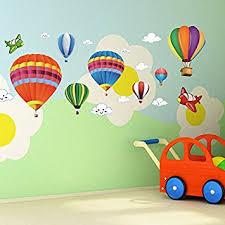 amaonm removable creative 3d air balloon aircraft