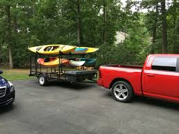 Removable Kayak Rack For My Utility Trailer | I Did That ... Retraxpro Mx Retractable Tonneau Cover Trrac Sr Truck Bed Ladder Review Of The Thule Xsporter Pro Rack Etrailer Bwca Cap Canoeladder Rack Boundary Waters Gear Forum Together With Toyota Ta A Kayak Racks As Well Ford Top 5 Best For Tacoma Care Your Cars Inspirational With Tonneau All About Boat Utility Pinterest And Camp Trailers Homemade Ftempo Souffledevent Oem Roof 2 Kayaks Is It Possible World Oak Orchard Canoe Experts Pick Up Rear Kayaks Awesome Specialized Will You Bases Cchannel Track Systems Inno