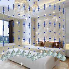 Glass Bead Curtains For Doorways by Crystal Glass Beads Curtain Home Party Decor Living Room