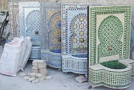 keramiek in Fez