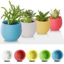plante de bureau mini rond pot fleur plastique plante jardin bureau maison table