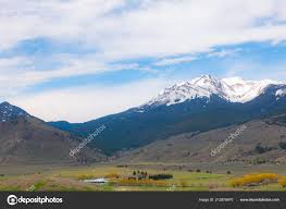 100 Stock Farm Montana Beautiful Scenic Morning Snow Covered Mountains