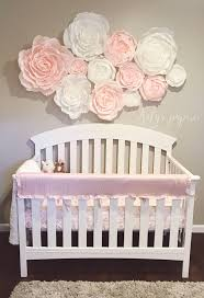 Pottery Barn Baby Wall Decor by Blush Nursery Wall Paper Flowers Paper Flower Wall Display Shop