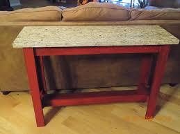 Ana White Sofa Table by Ana White Sofa Table With Granite Top Diy Projects