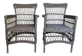 Vintage Broyhill Wicker Chairs- A Pair Bar Height Patio Fniture Costco Unique Outdoor Broyhill Wicker Newport Decoration 4 Piece Designs Planter Where Is Made Near Me Planters Awesome Decor Tortuga Bayview Driftwood 3piece Rocking Chair Set With Tan Cushion Patio Fniture Rocking Chair Peardigitalco Contemporary Deck Serving Tray