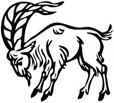 Free Goat Coloring Page Printable For Kids