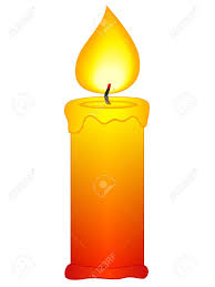 Candle clipart black and white no background
