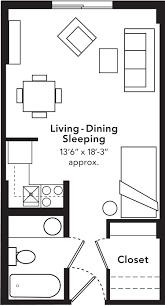 Interior Cool Design For Studio Apartment Plans Delightful Bachelor Blueprints Best Decorating Ideas Type Floor With