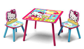 Kidkraft Heart Kids Table And Chair Set by Amazon Com Delta Children Table U0026 Chair Set Hello Kitty Baby