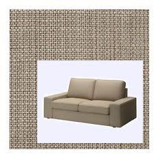 Ikea Kivik Sofa Cover by Ikea Kivik Sofa Cover Isunda Beige Slipcover Only Ebay