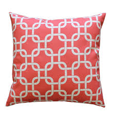 Coral Colored Decorative Items by Coral Throw Pillow Gotcha Coral Pillow Cover Coral Bed