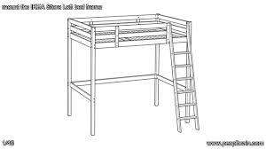 ikea loft bed instruction smartwedding co