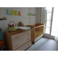 chambre bebe lit et commode chambre bébé nougatine ivoire lit commode armoire gauthier