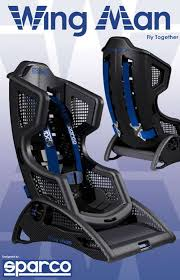 sparco siege auto carbon fiber child seats the sparco inspired wing