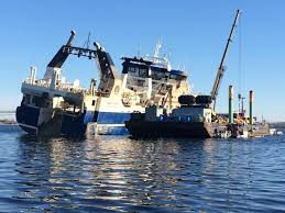100 North Star Trucking South Coast Seafood Rising Stormtossed Trawler