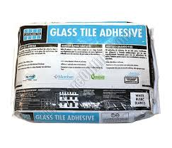 glass tile adhesive thinset one step non sag polymer fortified