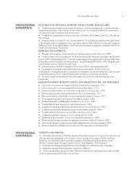 Dietitian Resume Example Clinical Sample Registered Cover Letter